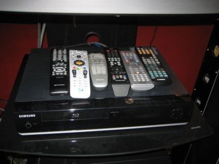 Too many remotes web